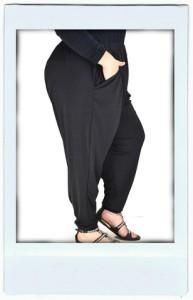 Black Harem Pants (Soo Comfy!)